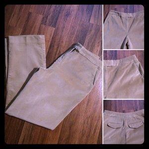 🦋2/$10 3/$154/$18 5/$20Talbots Comfy Velvet Pants